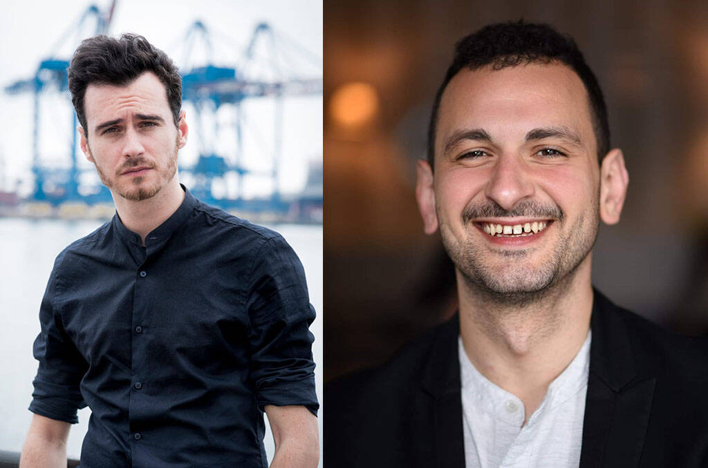 Igor Chierici e Luca Cicolella - corto maltese - festival borgio verezzi