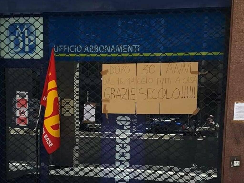 protesta lavoratori Secolo