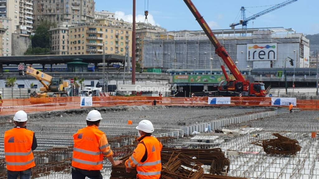 cantiere bisagno ultima trave