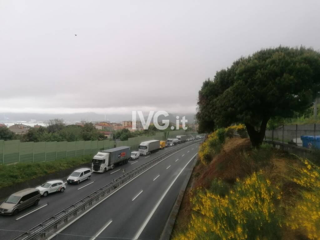 Incidente A10 Savona Albisola