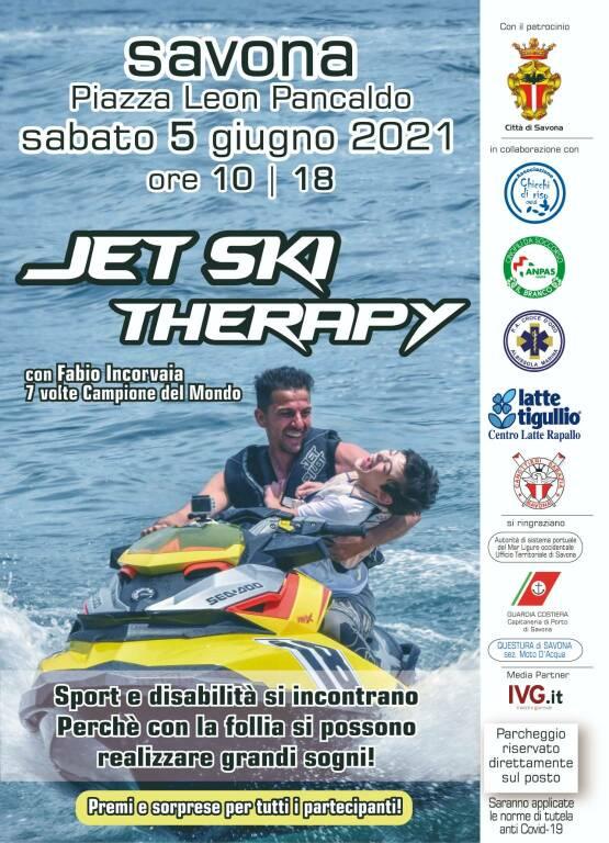 Jet Ski therapy fabio incorvaia 5 giugno 2021