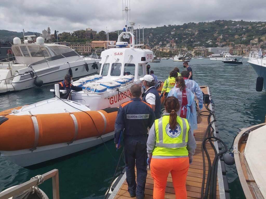 soccorso guardia costiera santa margherita