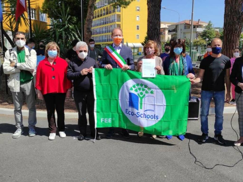 bandiera verde istituto benedetto croce andora