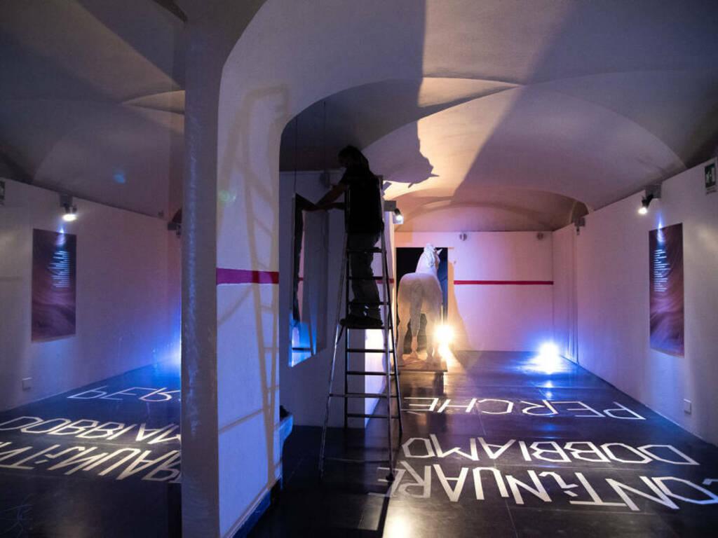 """Genova """"Edipo: io contagio"""" mostra performativa Palazzo Ducale"""