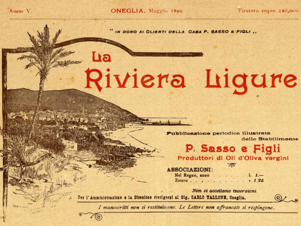La Riviera Ligure rivista Fondazione Mario Novaro Genova