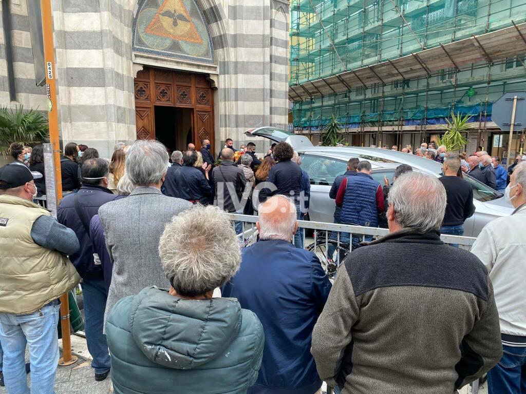 Il funerale di Marcello Pitzalis