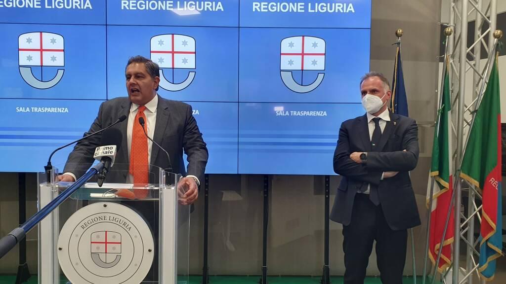 Il ministro Garavaglia a Genova: incontro con Toti e con le associazioni del settore