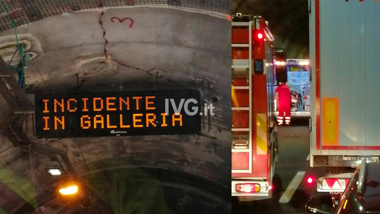 incidente galleria autostrada a10 USABILE ARCHIVIO