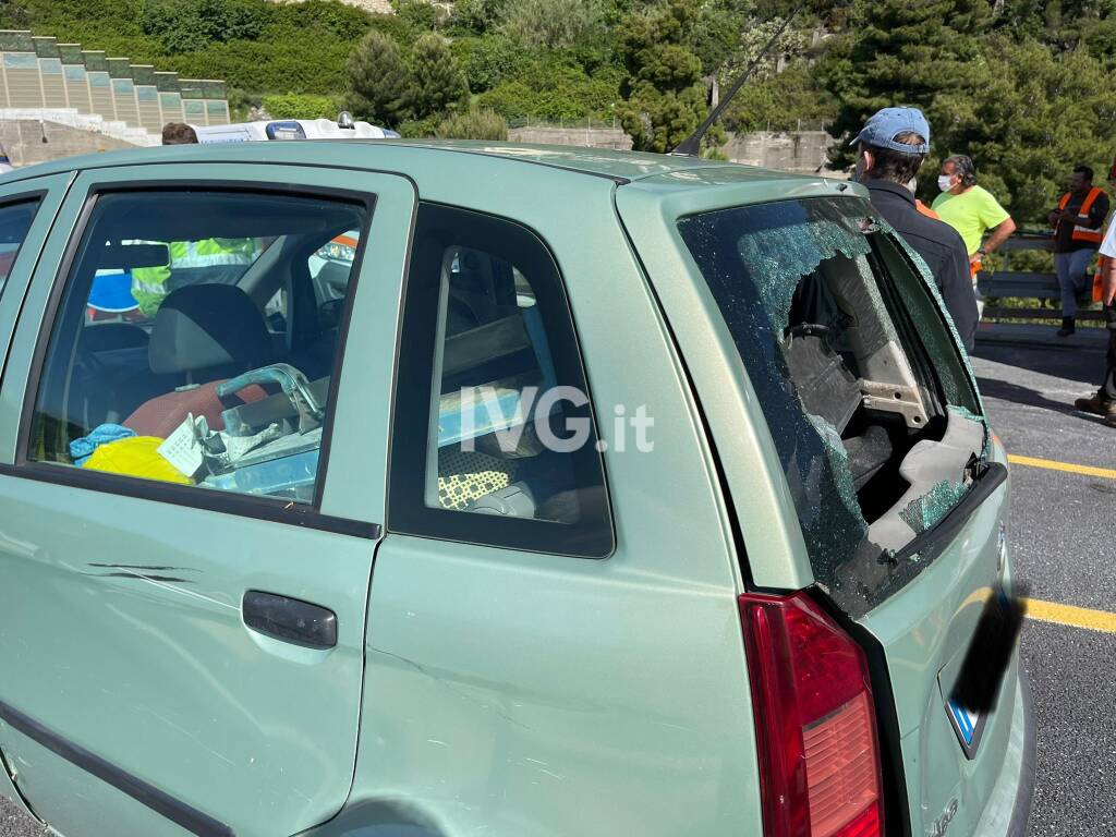 Incidente in A10 a Pietra Ligure