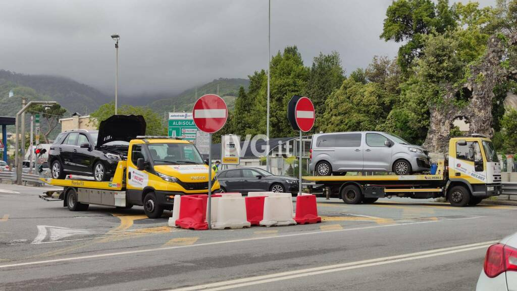 Incidente in A10 a Varazze