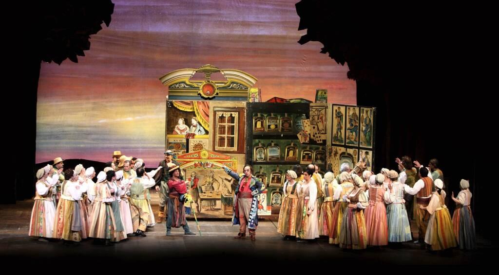 """L'elisir d'amore"" Gaetano Donizetti opera teatrale"
