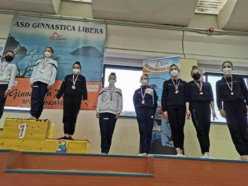 La Ginnastica Libera Spotorno al campionato nazionale Uisp
