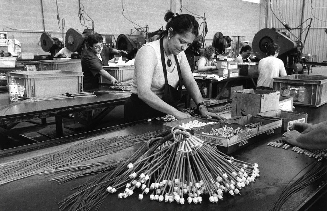 Lavoratrici (bianco e nero)