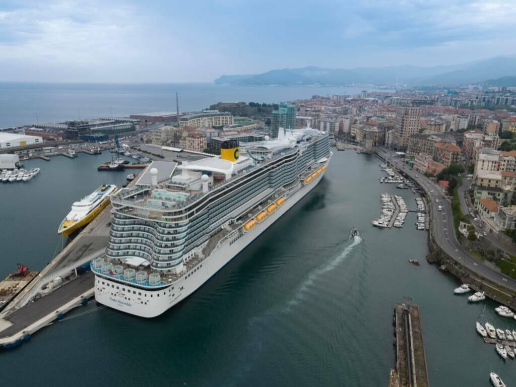 Le crociere Costa ripartono da Savona con l'ammiraglia Smeralda