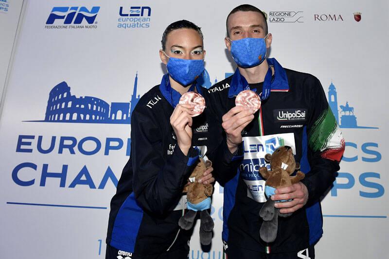 Nicolò Ogliari e Isotta Sportelli