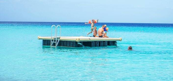piattaforma boa bagni marini