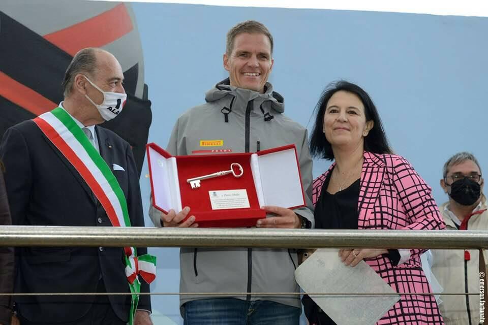 Pietro Sibello premiazione alassio