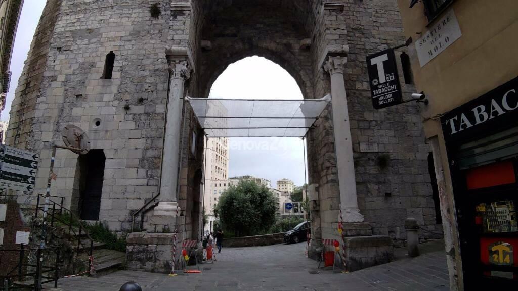 Porta Soprana transennata