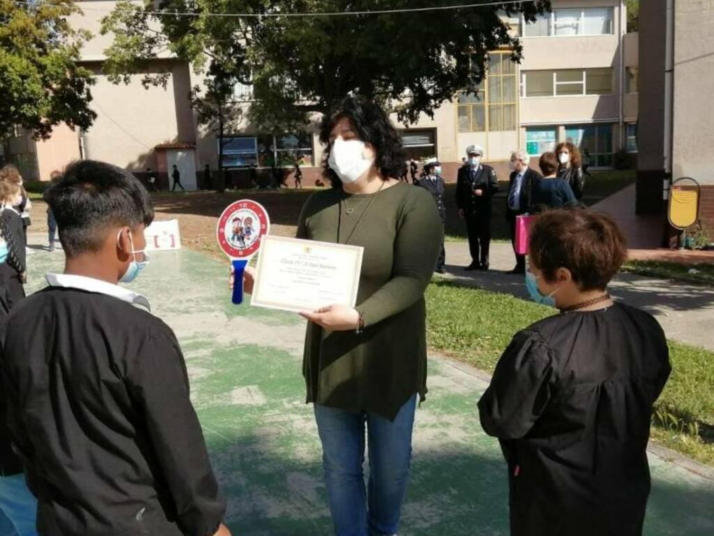 Progetto legalità ad Albenga, premiati gli alunni