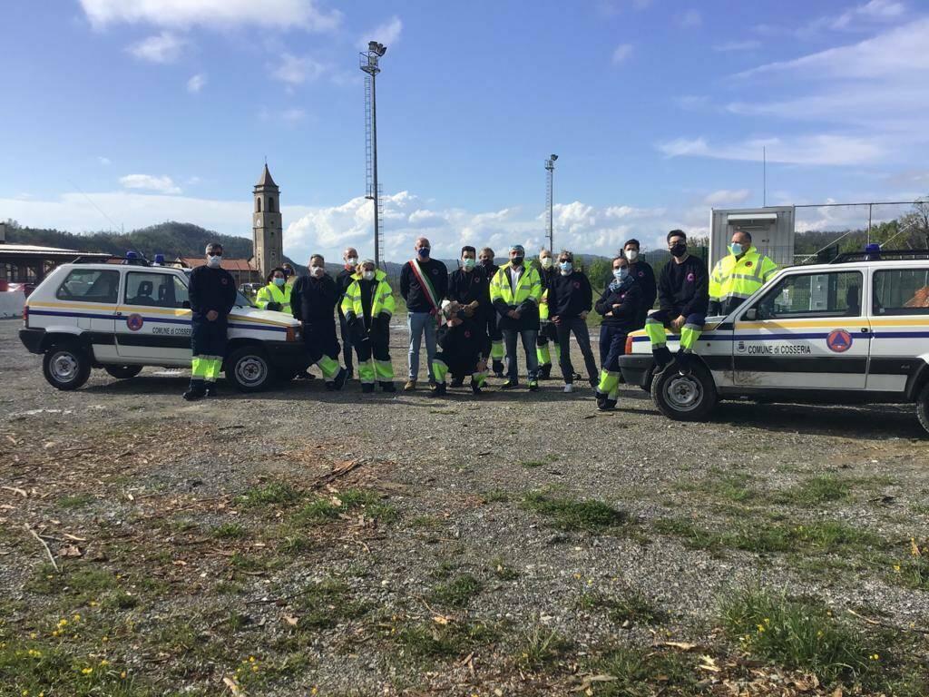 protezione civile Cosseria