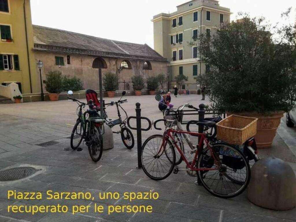 riorganizzazione spazi pubblici, la proposta fiab