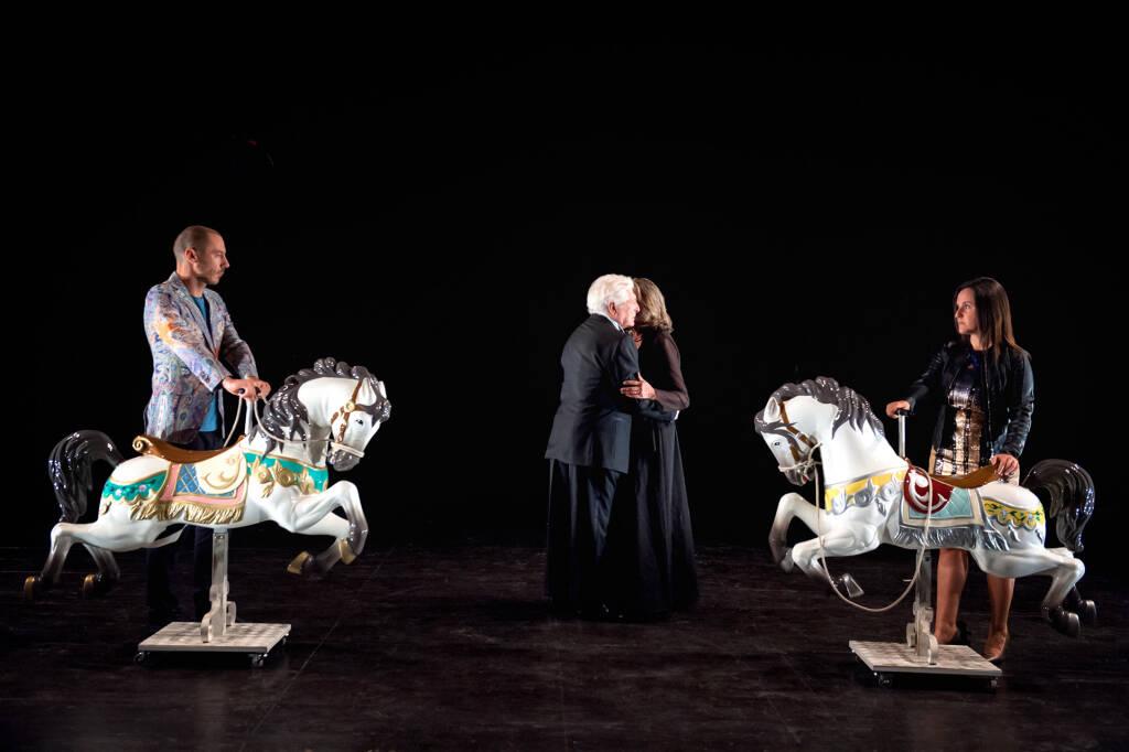 """""""Romeo e Giulietta - Una canzone d'amore"""" spettacolo teatro Paola Gassman e Ugo Pagliai"""