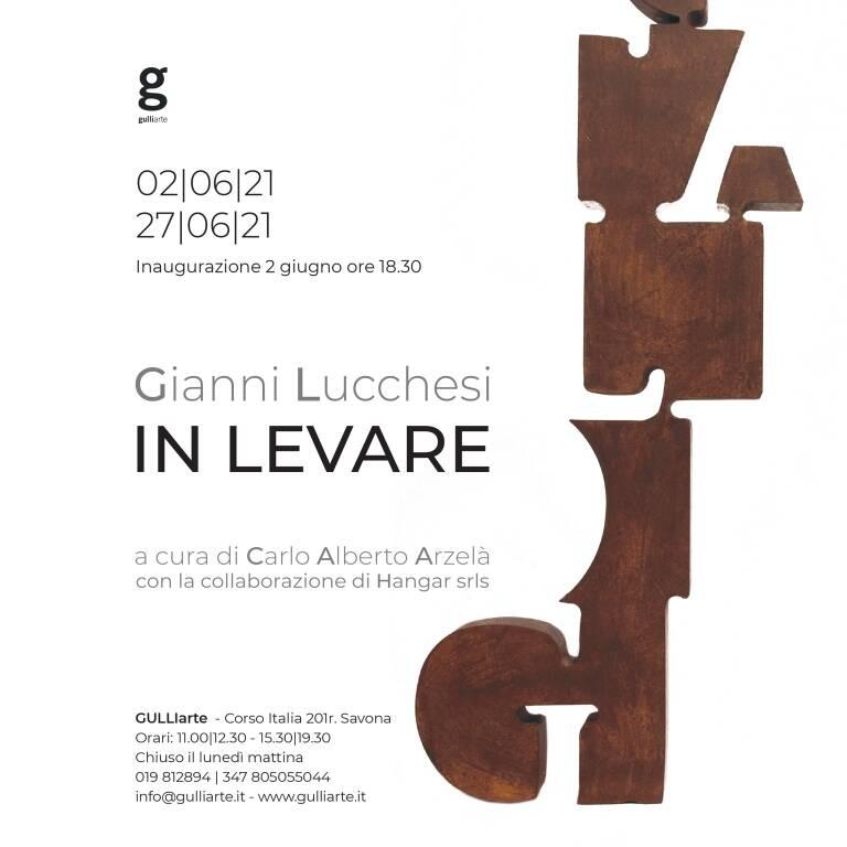 """Savona """"In levare"""" mostra Gianni Lucchesi GulliArte"""