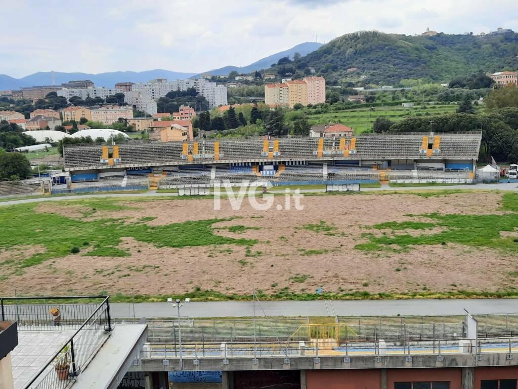 stadio Bacigalupo savona dall'alto