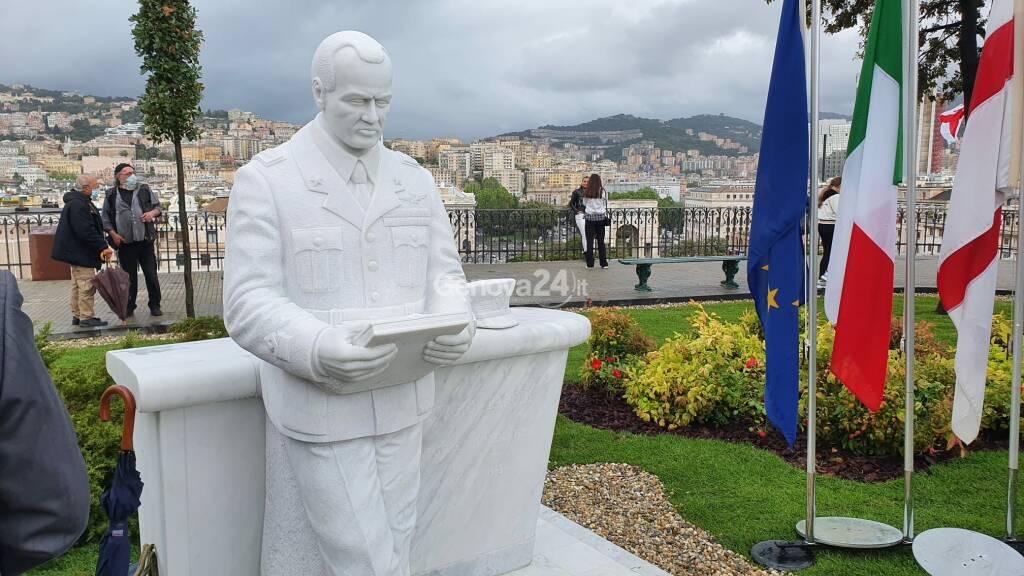statua giorgio parodi frecce tricolori