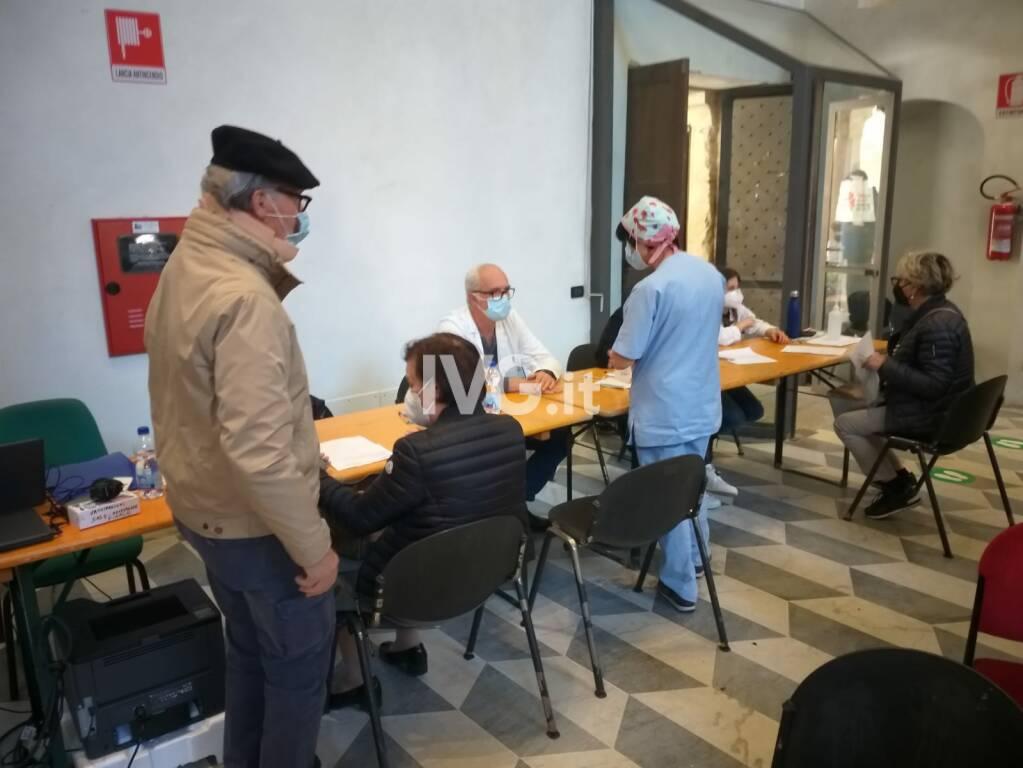 Vaccinazioni Chiostri di Santa Caterina Finale Ligure