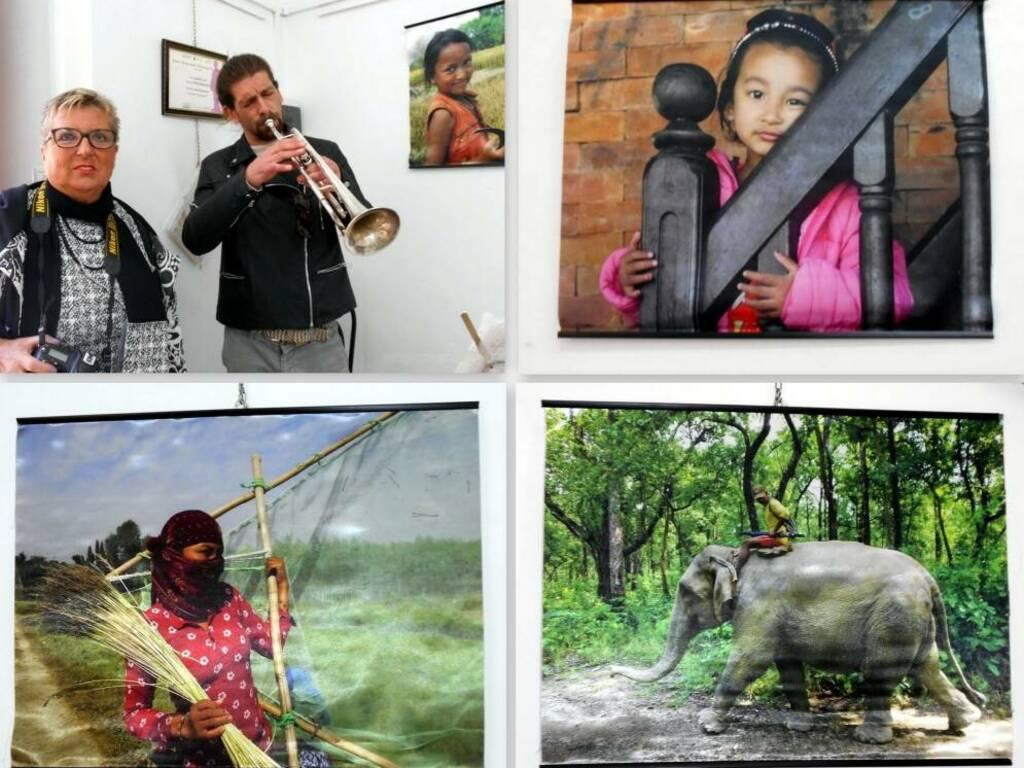 """Varazze """"Oltre il Nepal"""" reportage fotografa Carla Daneluzzi"""