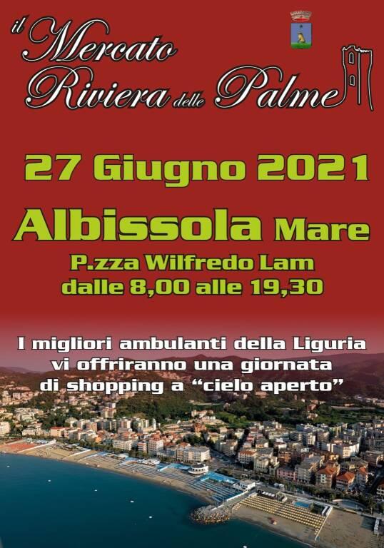 Albissola Marina Mercato Riviera Palme giugno 2021