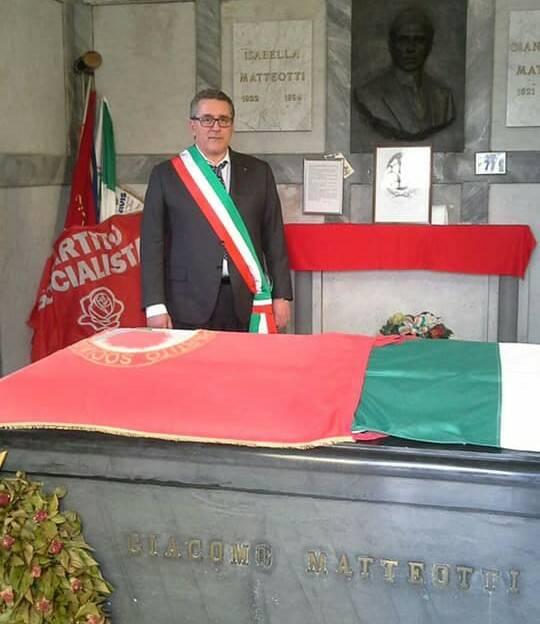 Alessandro Bozzano fascia tricolore