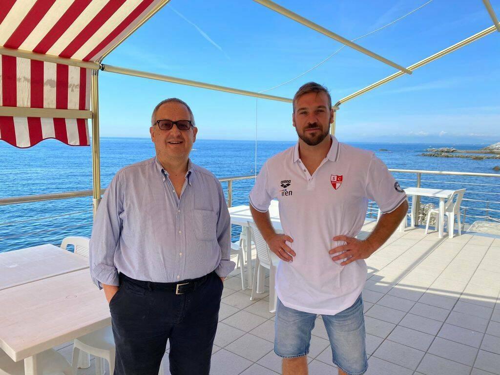 Alessandro Di Somma all'Iren Genova Quinto