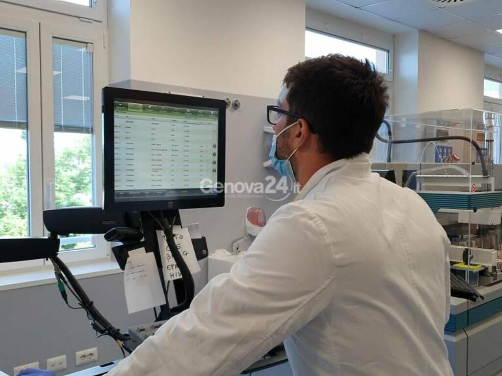 All'ex ospedale Celesia il super laboratorio hi-tech che processerà gli esami dei genovesi