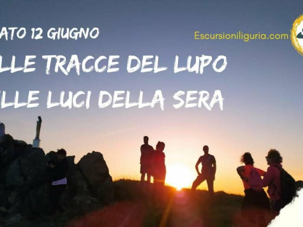 Alta Via dei Monti Liguri escursione serale guida Serena Siri