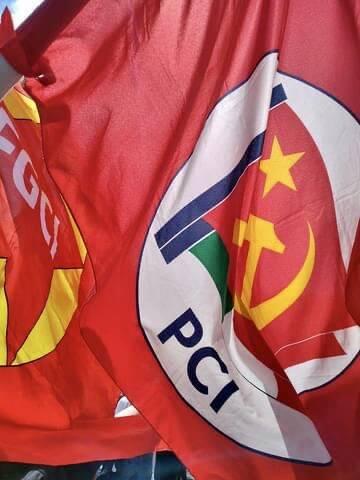 bandiera partito comunista