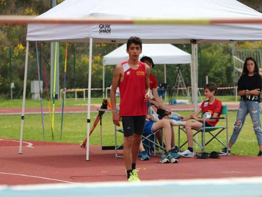 cadetti dell'Atletica Run Finale