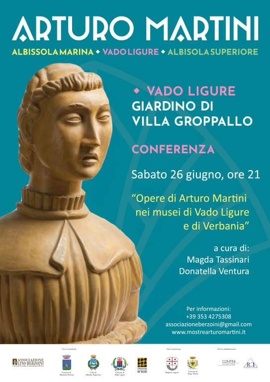 Opere di Arturo Martini nei Musei di Vado Ligure e Verbania