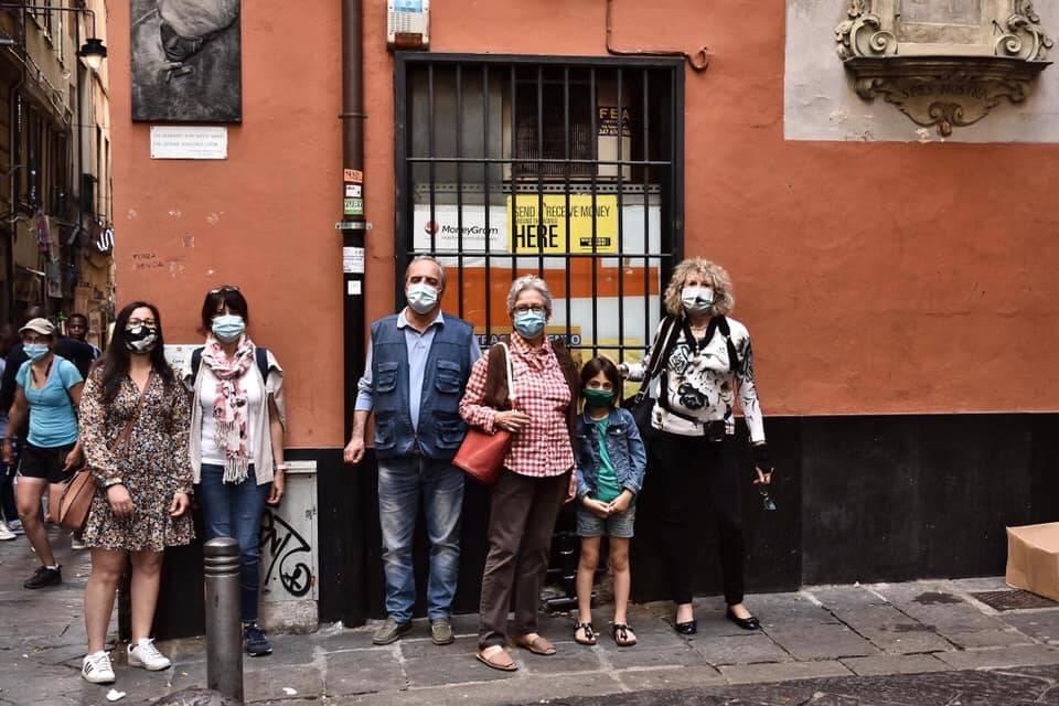A Zena de Faber, passeggiata  sulle orme di Fabrizio De André