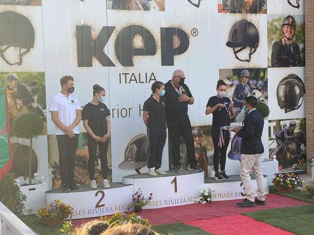Volteggio - Due medaglie alla Liguria e ottimi posti per le Perle Nere di GiuEle