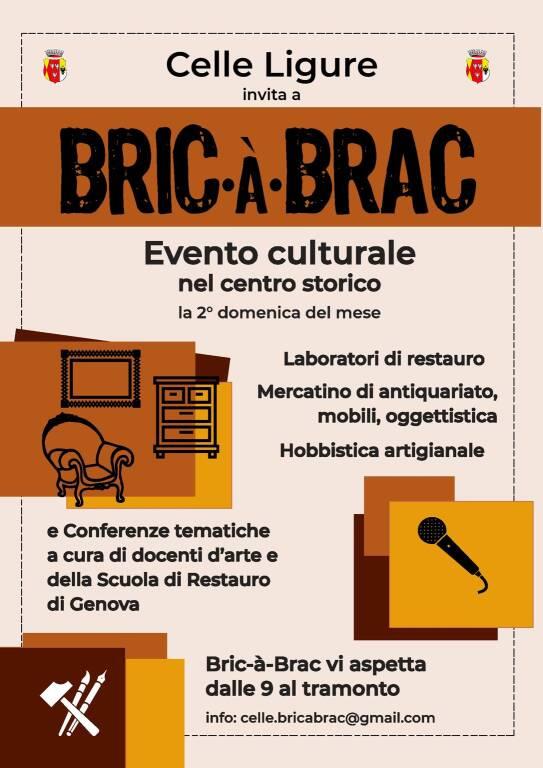 "Celle Ligure ""Bric-à-Brac"" antiquariato collezionismo"