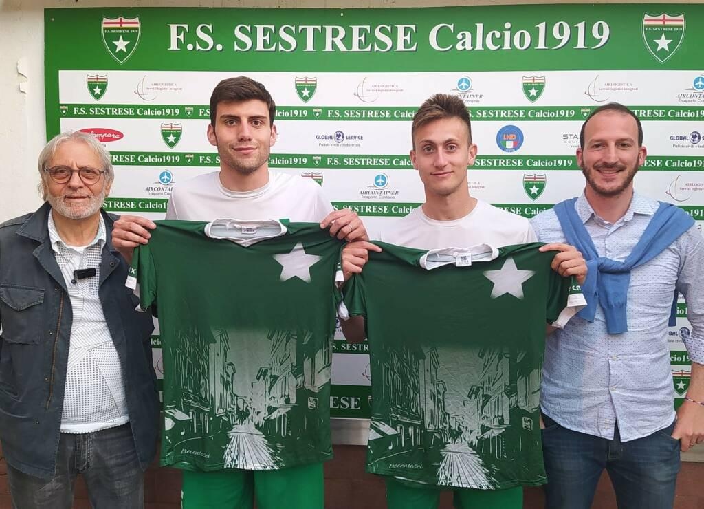 Gabriel Padovan (leva 2000) e Filippo Tecchiati (leva 1999),