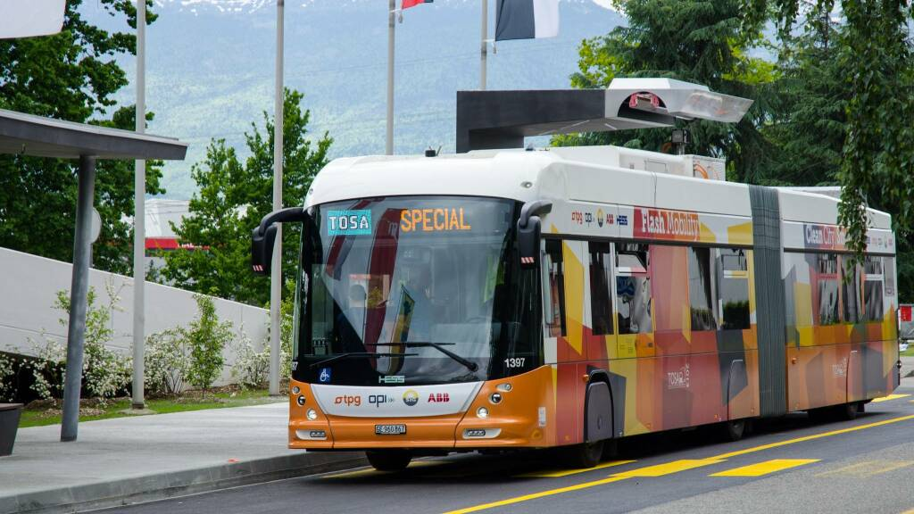 bus flash charging