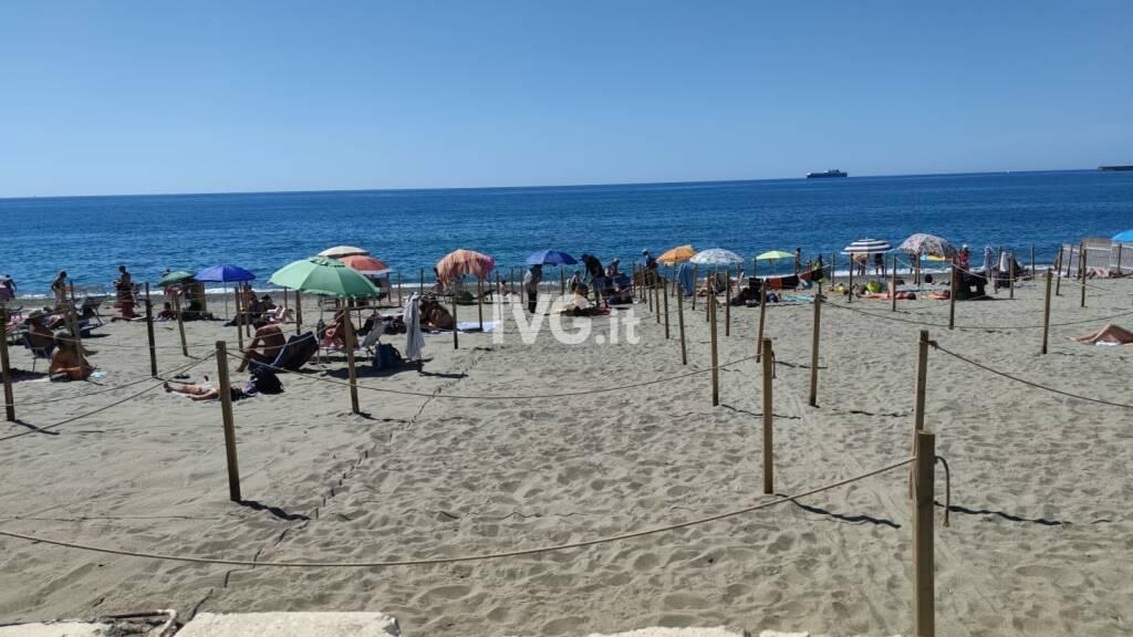 spiaggia albisola covid