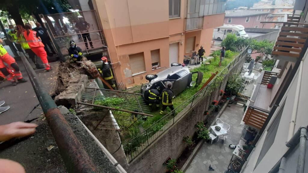 incidente Arenzano, foto Angelo Firpo