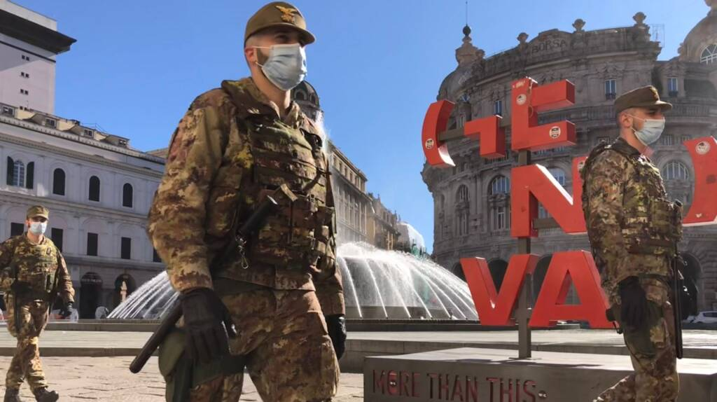 esercito genova militari