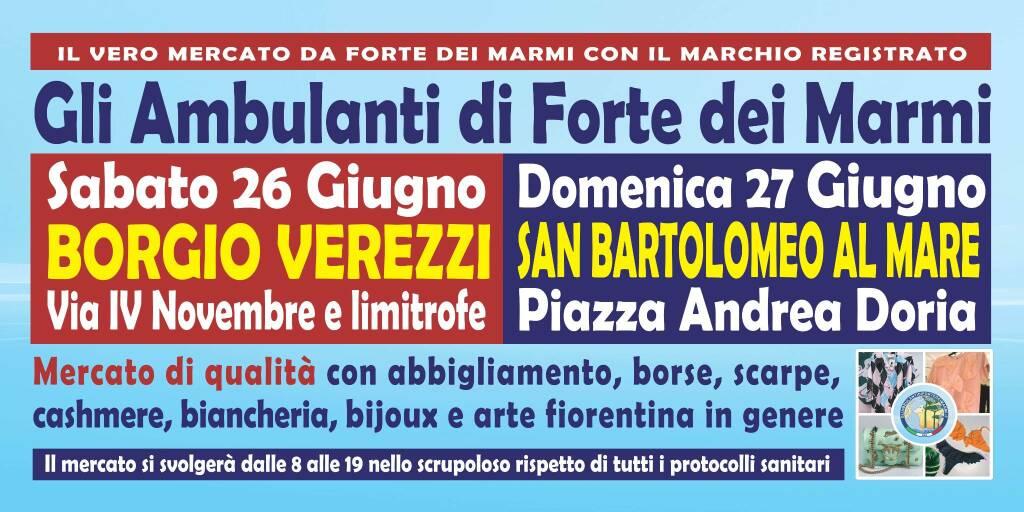 Mercato Forte Marmi Borgio San Bartolomeo