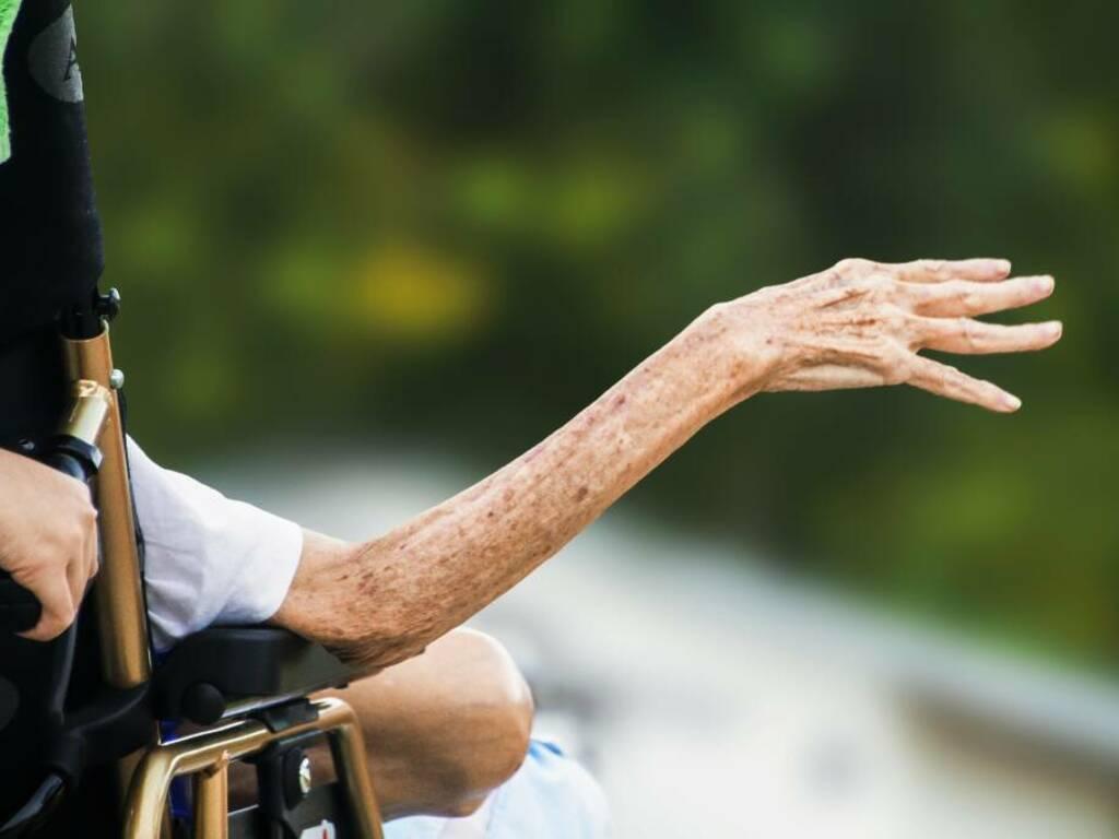 anziano disabile