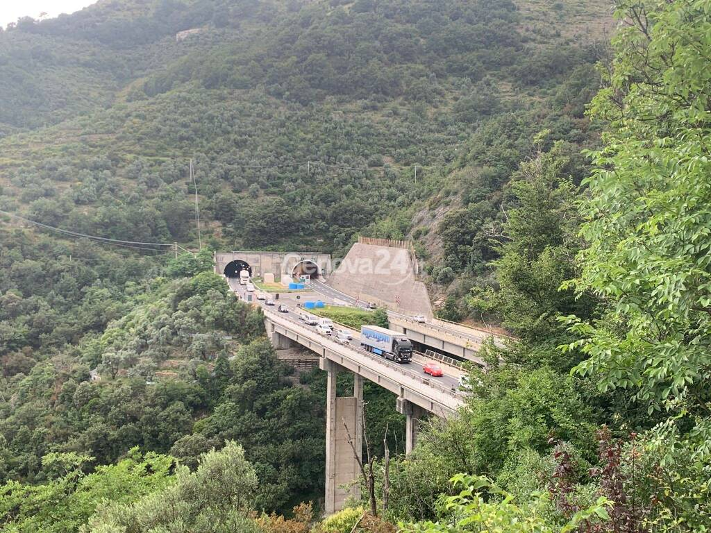 viadotto rio burchi bogliasco autostrada a12